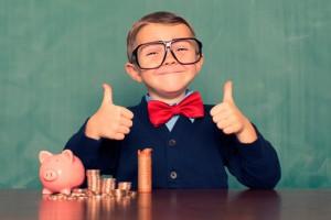Assessoria empresarial educacao financeira para os seus filhos