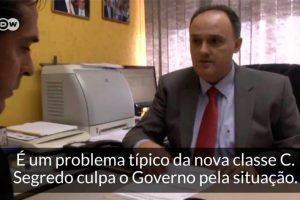 Marcelo Segredo deu uma entrevista para um documentário de uma TV alemã falando sobre a Classe C no Brasil.