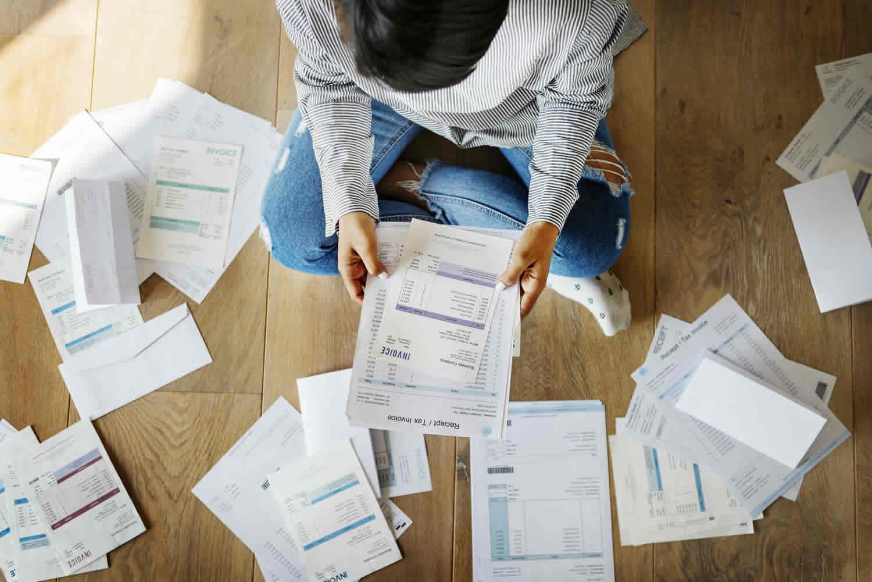 redução de dívidas